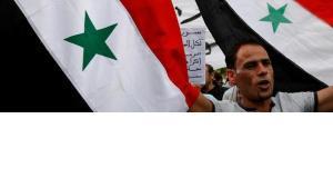 Demonstration gegen das Assad-Regime; Foto: AP