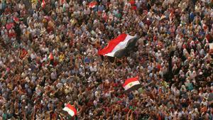 Demonstration auf dem Tahrir-Platz in Kairo; Foto: Reuters