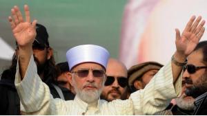 Tahir ul-Qadri; Foto: AFP