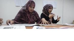 Redakteurinnen von Libya Al Jadeeda; Foto: © Werner D'Inka