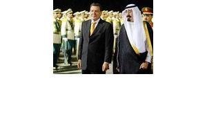 Gerhard Schröder, Abdallah bin Abdulaziz, Foto: AP