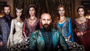 Poster der türkischen Fernsehsendung Muhteşem Yüzyıl; Foto: imago/Seskim Photo