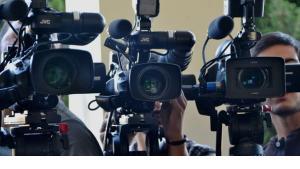 Symbolbild TV-Kameras; Foto: DW