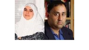 Heba Raouf Ezzat und Emran Qureshi; Fotos: privat