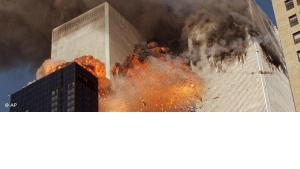 Explosion am World Trade Center am 11.September 2011; Foto: AP