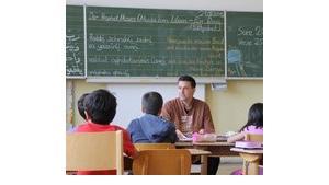 Islamkunde an einer Bamberger Schule; Foto: Ammar/DW