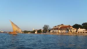 Der Hafen von Stone Town