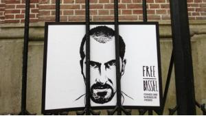 Kampagne zur Freilassung des syrischen Aktivisten und Software-Entwicklers Bassel Khartabil; Foto: flickr.com