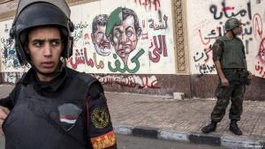 Einheiten der Armee vor dem Präsidentenpalast in Kairo; Foto: Getty Images