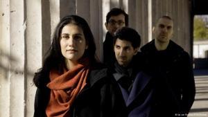 Bandmitglieder der Berliner Gruppe Cyminology; Foto: Kai von Rabenau/ECM Records