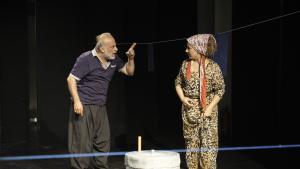 "Szenenbild aus dem Stück ""Frauenmelodie""; Foto: Astrid Kaminski"