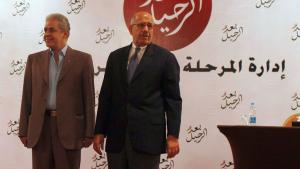 Hamdin Sabahi (links) und Mohammed ElBaradei (rechts); Foto: Reuters