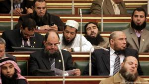 Salafistische Politiker im ägyptischen Parlament; Foto: AFP/Getty Images