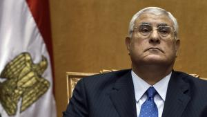 Ägyptens Übergangspräsident Adli Mansour; Foto: AFP/Getty Images