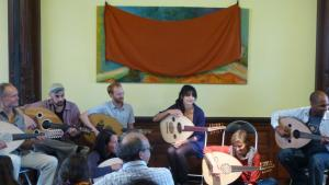 Oud-Workshop auf der 3. Orientalischen Musik-Sommerakademie in Badenweiler; Foto: Ulrike Askari