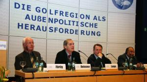 Teilnehmer auf der Golfkonferenz der Konrad-Adenauer-Stiftung; Foto: Konrad-Adenauer-Stiftung
