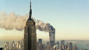Angriffe auf das World Trade Center in New York am 11.9.2001, Foto: AP