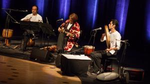 Shahrokh Moshkin Ghalam & Barbad Project im Rahmen des New Sounds of Iran Festivals 2013; Foto: DW/S. Kasraeian