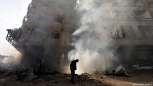 Kriegszerstörte syrische Stadt Homs; Foto: Reuters