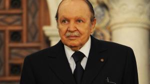 Algeriens Präsident Abdelaziz Bouteflika; Foto: Farouk Batiche/AFP/Getty Images
