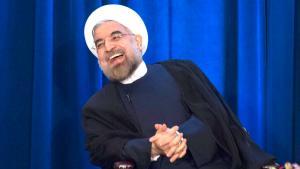 Irans Präsident Hassan Rohani während einer Veranstaltung des Council on Foreign Relations und der Asia Society in New York; Foto: Keith Bedford/Reuters