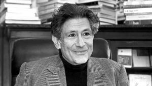 Bild Edward Said; Foto: Columbia University
