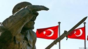 Denkmal für den unbekannten Soldaten in Ankara; Foto: Tarik Tinazay/dpa