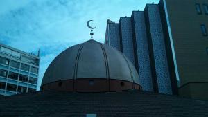 Kuppel der East London-Moschee; Foto: Joanna Impey