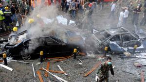 Anschlag in der Nähe der iranischen Botschaft in Beirut; Foto: Reuters