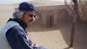 Der tunesische Filmemacher Nacer Khemir; Foto: Christina Omlin