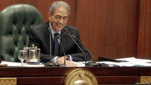 Amr Moussa, Vorsitzender des ägyptischen Verfassungskomitees; Foto: dpa/picture-alliance