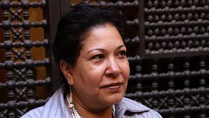 Die ägyptische Schriftstellerin Safaa Abdelmenem; Foto: Safaa Abdelmenem
