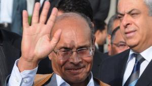 Tunesiens Präsident Moncef Marzouki; Foto: dpa/picture-alliance