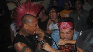 Anarcho-Punks in Kuta/Bali; Foto: DW/ D.Ossami