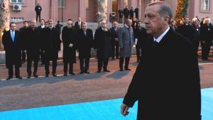 Der türkische Ministerpräsident Erdogan in Ankara; Foto: Reuters