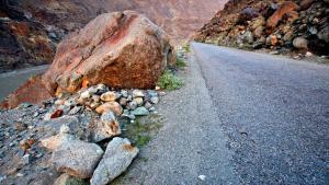 Eine Straße ins Harban-Tal; Foto: Reuters
