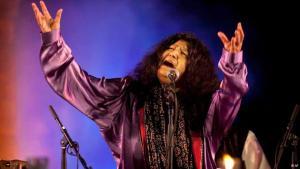 Sufi singers like Abida Parveen are poular in Pakistan. Foto: AP
