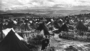 Nahr El-Bared, das erste palästinensische Flüchtlingslager nach dem Krieg von 1948; Foto: UNRWA Archive/S. Madver