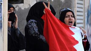 Anti-Regierungsproteste in Ras Roman bei Manama, Bahrain; Foto: picture-alliance/dpa
