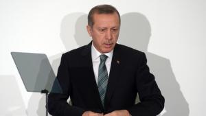 Der türkische Ministerpräsident Recep Tayyip Erdoğan; Foto: dpa/picture-alliance