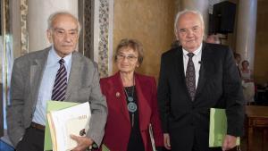 Fuad Rifka nimmt die Goethe-Medaille entgegen; Foto: Maik Schuck