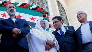Treffen der syrischen Opposition; Foto: Getty Images