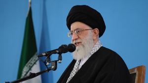 Ali Khamenei in Teheran; Foto: ISNA