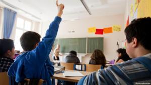 Multikulturelle Vielfalt im Klassenzimmer; Foto: picture-alliance/dpa