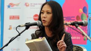 Die US-amerikanische Juristin und Publizistin Amy Chua; Foto: Prakash Singh/AFP/Getty Images