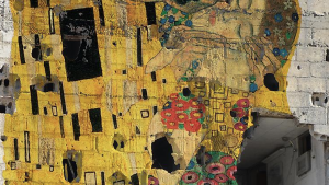 Tammam Azzams Freedom Graffiti; Foto: The Ayyam Gallery