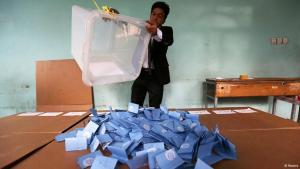 Auszählung der Stimmen nach der Präsidentschaftswahl in Afghanistan; Foto: Reuters