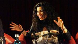 Die libanesische Dichterin Joumana Haddad; Foto: Ceyda Nurtsch