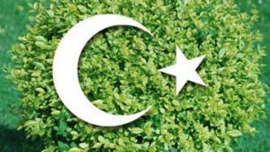 Symbolbild Öko-Islam, Fotomontage; Quelle: DW/dpa/picture-alliance