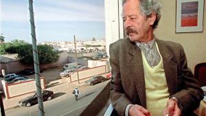Der marokkanische Schriftsteller Mohamed Choukri am 5.11.2000 in Casablanca; Foto: picture-alliance/dpa